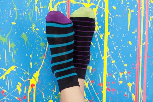 Twee verschillende sokken
