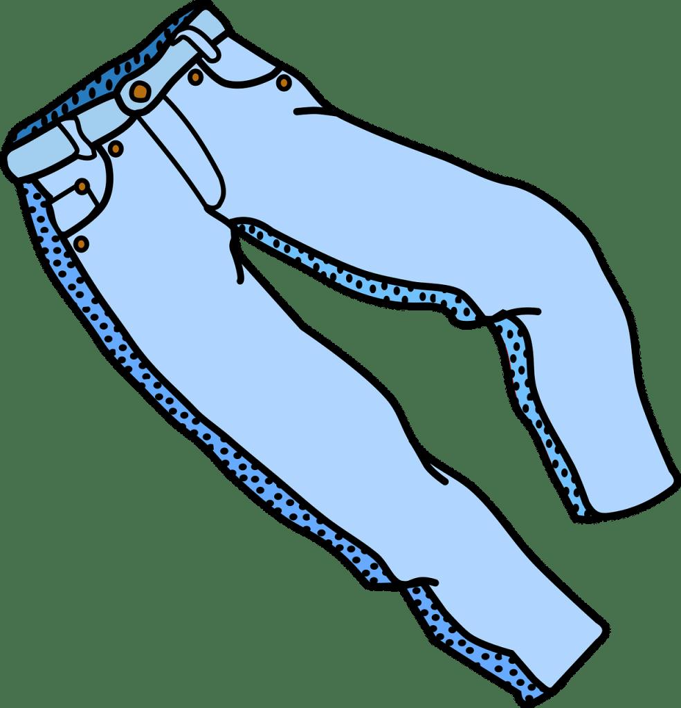 broek stevige benen