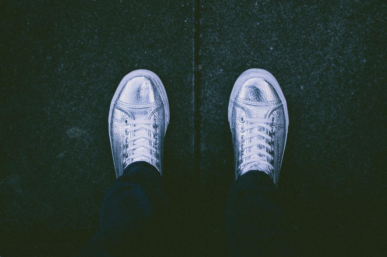 Mijn zilveren schoenen